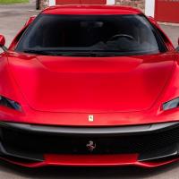 Фото Ferrari SP38 2018 салона и кузова