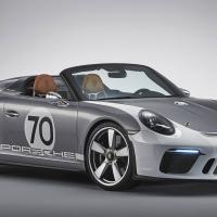 Фото Porsche 911 Speedster Concept 2018 салона и кузова