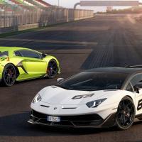 Фото Lamborghini Aventador SVJ салона и кузова