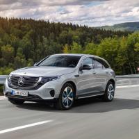 Фото Mercedes EQC 2019 салона и кузова