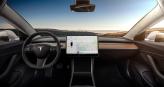Фото Tesla_Model_3_dash_cluster_interior.jpg салона и кузова